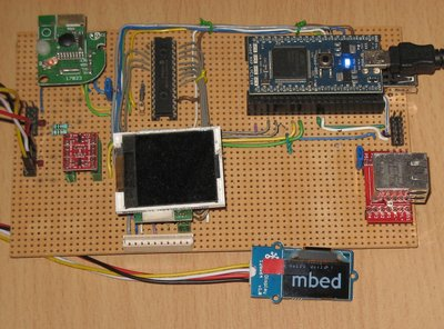 OLED Display with SSD1308 Driver | Mbed