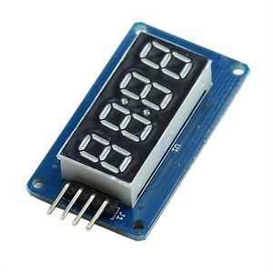 Arduino code 4 digit clock display tm1637 ds3231 7